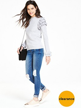 v-by-very-frill-sleeve-and-cuff-jumper