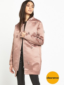 lost-ink-embellished-satin-bomber-pink