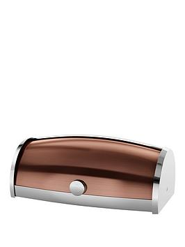 swan-townhouse-roll-top-bread-bin--nbspcopper