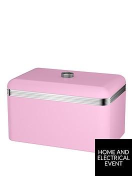 swan-retro-bread-bin-ndash-pink