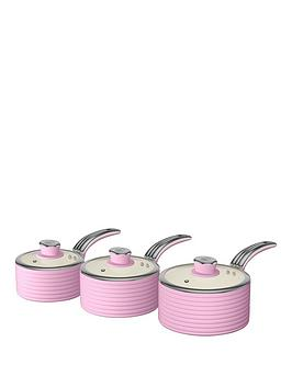 swan-retro-set-of-3-saucepans-ndash-pink