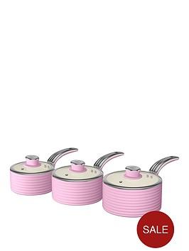 swan-retro-set-of-3-saucepans-ndash-pink