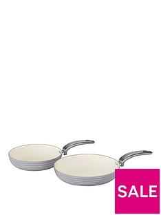 swan-retro-set-of-2-frying-pans-ndash-grey