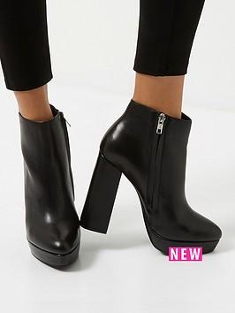 river-island-extreme-chunky-platform-boot-black