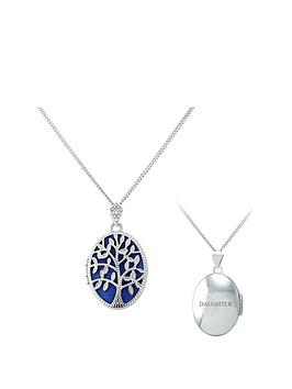 keepsafe-keepsafe-sterling-silver-blue-inset-tree-of-life-oval-locket