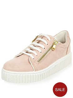 river-island-depesh-double-sole-lace-up-trainer