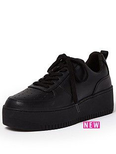 river-island-lace-up-on-double-sole-trainer