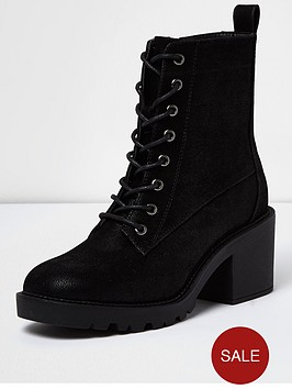 river-island-chunky-lace-up-heeled-utility-boot