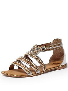 river-island-star-embellished-flat-sandals