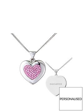 keepsafe-sterling-silver-pink-crystal-personalised-pendant