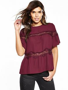 v-by-very-lace-insert-short-sleeve-blouse