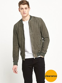 selected-homme-suede-bomber-jacket