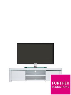 Atlantic Gloss TV Unit with LED Lights - fits up to 65 inch TV