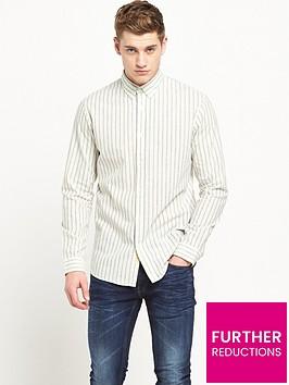 selected-homme-long-sleeved-stripe-shirt