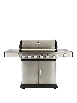 premium-6-burner-with-side-burner-amp-cooking-grill-system-bbq