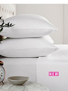 silentnight-silentnight-supersoft-100-brushed-cotton-fitted-sheet-with-free-pillowcase--single