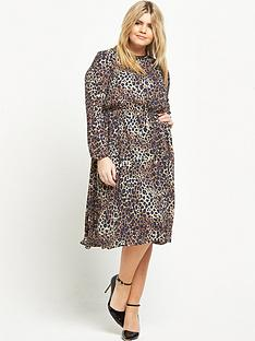 so-fabulous-curve-animal-print-woven-dress