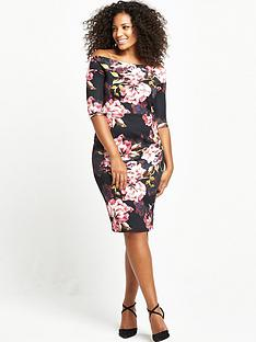 so-fabulous-curve-scuba-midi-dress