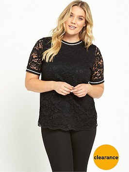 v-by-very-curve-curve-rib-trim-lace-t-shirt-black