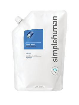 simplehuman-1-litre-hand-soap-refill-ndash-spring-water