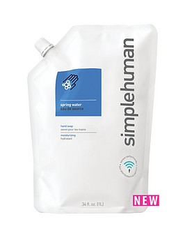 simplehuman-1-lt-refill-hand-soap-spring-water