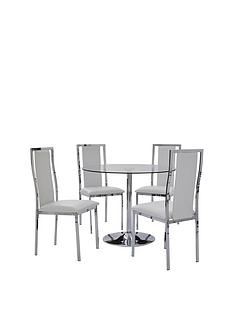 havana-dining-table-and-4-atlantic-chrome-half-back-chairs