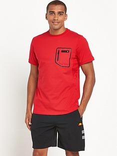ellesse-ostuni-pocket-fitness-t-shirt