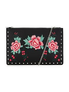 v-by-very-flower-embroidered-amp-stud-detail-clutch