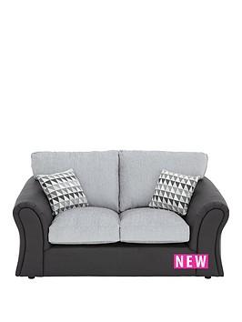 linear-2-seaternbspstandard-back-compact-sofa