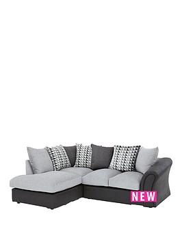 linear-left-hand-scatterbacknbspcorner-chaise-sofa