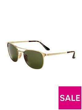 ray-ban-retro-signet-sunglasses-greengold