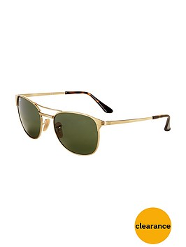 ray-ban-retro-signet-sunglasses-greengold