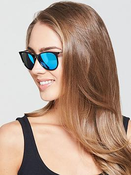Ray-Ban Large Round Mirror Lens Sunglasses