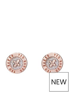 ted-baker-eisley-logo-mini-stud-earrings