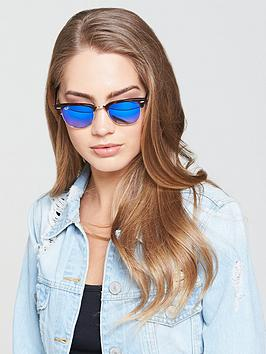 ray-ban-clubmaster-sunglasses-bluenbsp