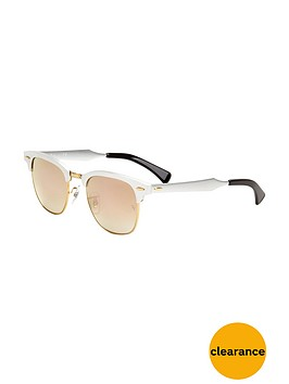 ray-ban-clubmaster-flash-lense-sunglasses
