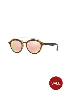 ray-ban-raised-bar-mirror-lensnbspclubround-sunglasses