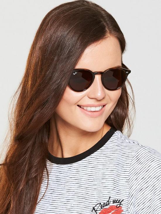 96d412c69239 Ray-Ban Round Sunglasses - Tortoiseshell