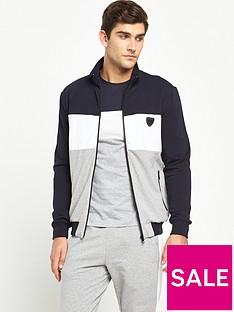 antony-morato-colour-block-zip-through-hood