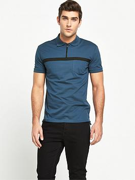 antony-morato-strike-zip-polo