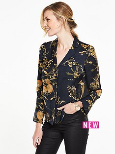 v-by-very-printed-satin-pyjama-blouse