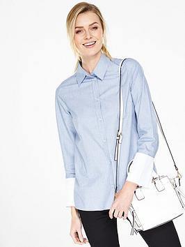 v-by-very-deep-cuff-cotton-shirt