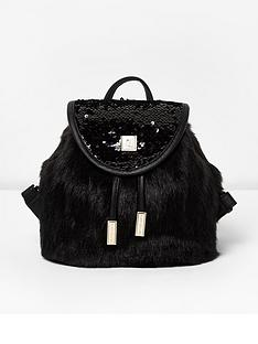 river-island-girls-faux-fur-and-sequin-backpack