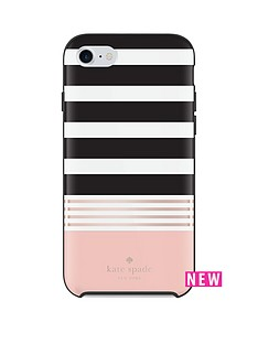 kate-spade-new-york-stripe-2-protective-hardshell-fashion-case-for-iphone-7-blackrose-gold