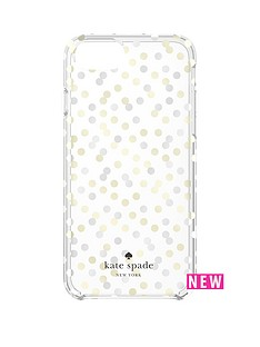 kate-spade-new-york-hardshell-confetti-dot-fashion-case-for-iphone-7-goldclear
