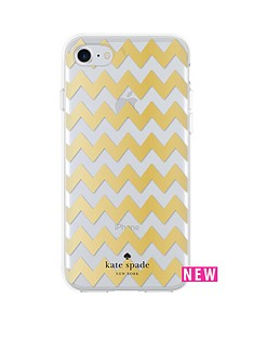 kate-spade-new-york-chevron-protective-hardshell-case-for-iphone-7-gold-foilclear-glitter