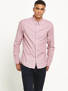 farah-pattenson-long-sleeve-textured-shirt