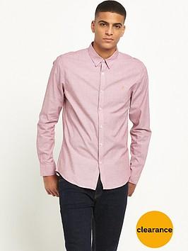 farah-pattenson-long-sleeve-textured-shirt