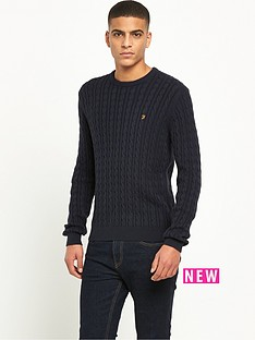 farah-lewes-cable-knit-jumper