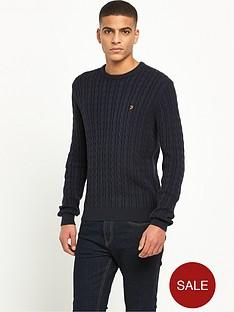 farah-lewes-cable-knit-jumper